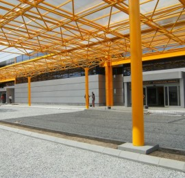 Cluj-Napoca International Airport (7,000 sqm)